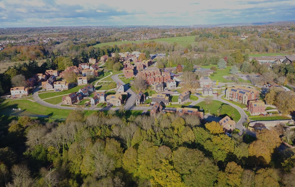 Autumn in Godalming | Drone on